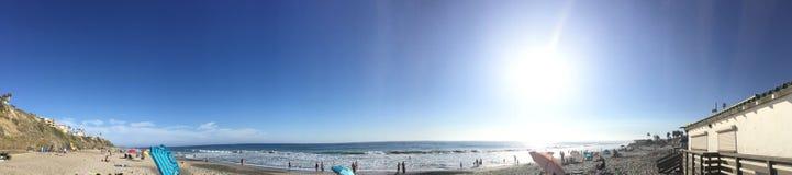 Podróż przy San Clemente stanu plażą Zdjęcia Royalty Free
