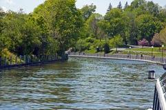 Podróż Rideau kanałem zdjęcie stock