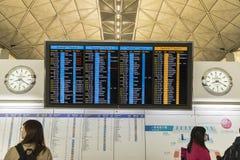 Podróż rozkładu ekranu monitor Zdjęcia Stock