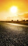 podróż słońca Zdjęcia Royalty Free