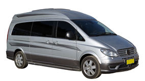 Podróż samochód dostawczy Obrazy Royalty Free