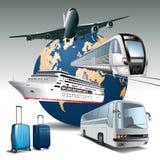 Podróż transport Zdjęcie Stock