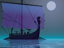 podróż Viking ilustracji