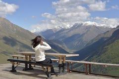 Podróż w górach Kabardino-Balkaria zdjęcie royalty free