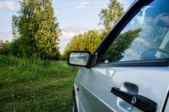 Podróż w samochodzie bell świątecznej element projektu Fotografia Stock