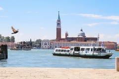 Podróż Wenecja na kanałach Obraz Royalty Free