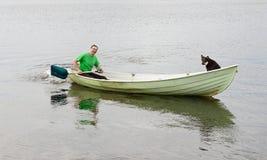 Podróż wokoło jeziora Fotografia Royalty Free