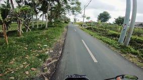 Podróż wzdłuż drogi Ścieżka w Tajlandia zbiory wideo
