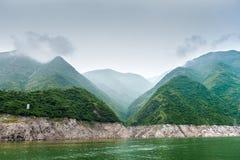 Podróż wzdłuż Yangtze fotografia stock