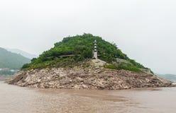 Podróż wzdłuż Yangtze zdjęcie royalty free