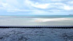 Podróż zdroju jacuzzi urlopowy luksusowy basen od Koh Samui hotel w kurorcie na dennym tle Tajlandia swobodny ruch zbiory wideo