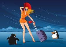 'Podróż Zwrotniki' royalty ilustracja