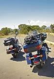 Podróżni rowerzyści Zdjęcia Stock