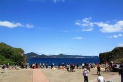 Podróżnicy Taiwan 5 i pokojowy ocean zdjęcie stock