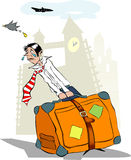 podróżnik ilustracji