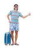Podróżny turystyki pojęcie Zdjęcia Stock