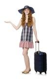 Podróżny turystyki pojęcie Fotografia Stock