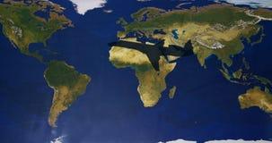 podróżować globalne ilustracji