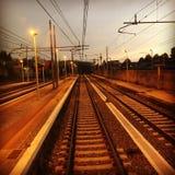 Podróżować pociągiem Obrazy Stock