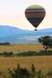 Podróżować w gorące powietrze balonie Kenja Zdjęcie Royalty Free