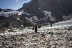 Podróżować w Kaukaskich górach w Gruzja Obraz Royalty Free