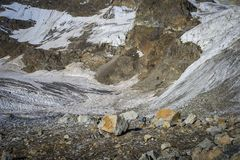 Podróżować w Kaukaskich górach w Gruzja Zdjęcie Royalty Free