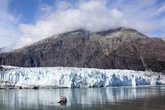 Podróżować W lodowiec zatoki parku Zdjęcia Royalty Free