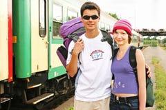 podróżowanie pary Fotografia Stock