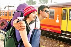 podróżowanie pary Fotografia Royalty Free