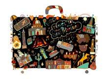 Podróżuje święty Petersburg, nakreślenie dla twój projekta ilustracji
