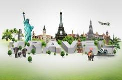 Podróżuje świat obrazy royalty free