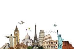 Podróżuje światowego pomnikowego pojęcie