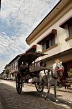 Podróżuje Filipińska ` s północ, Vigan Zdjęcie Stock