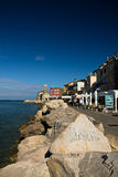 Podróżuje piękny piran na Adriatic morzu, Slovenia Obraz Royalty Free