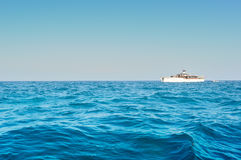 Podróży łódź na Andaman morzu Fotografia Royalty Free