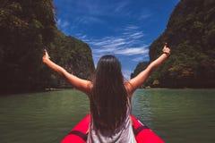 Podróży Asia kobieta zdjęcie stock