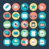 Podróży Barwione Wektorowe ikony 3 Fotografia Royalty Free