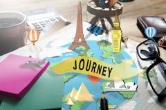 Podróży eksploraci wycieczki turysycznej podróży wędrówki wakacje pojęcie Obraz Stock