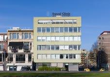 Podróży klinika Rotterdam obraz stock