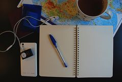 Podróży planistyczny pojęcie zdjęcia royalty free
