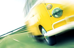 Podróż samochodem dostawczy Fotografia Royalty Free