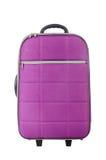 Podróży pojęcie z bagażu suitacase Zdjęcia Royalty Free