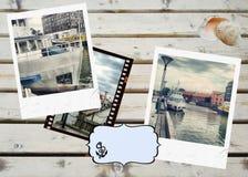 Podróży tło Obraz Stock