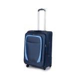 Podróży walizka odizolowywająca na białym tle Zdjęcie Stock