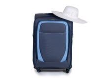 Podróży walizka odizolowywająca na białym tle Obrazy Stock