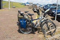 Podróż bicyklu holandie ilustracji