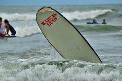 Podróż i surfing w Baler Filipiny Obraz Stock