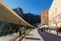 Podróż monaster Montserrat, Hiszpania Zdjęcie Stock
