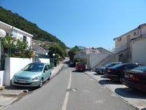 Podróż Montenegro na Adriatyckim morzu Fotografia Stock