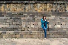 podróżne Azjatyckie kobiety Obrazy Stock
